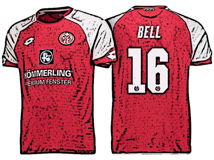 FSV Mainz 05 Kit Jersey For Cheap stefan bell 17-18 Home Shirt