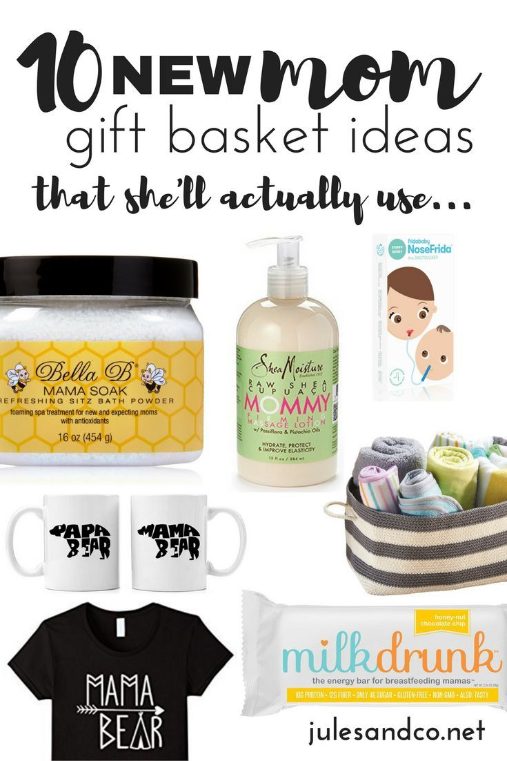 Give a basket of encouragement to a new mama! We can't do motherhood alone. Do it together with these hand-picked gift ideas for new mom that she'll actually use. Get inspired and shop here!