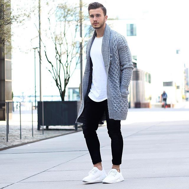 How to wear a Cardigan The Idle Man 37