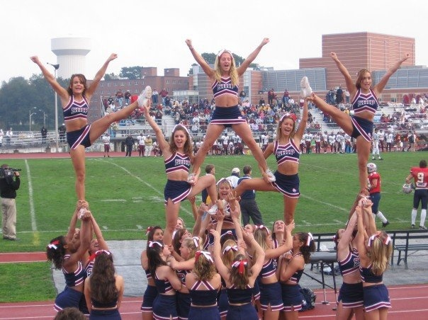 Cheerleading - Pyramid - Shippensburg University