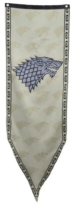 Show your love for House Stark with this exclusive TVStoreOnline Game of Thrones banner!