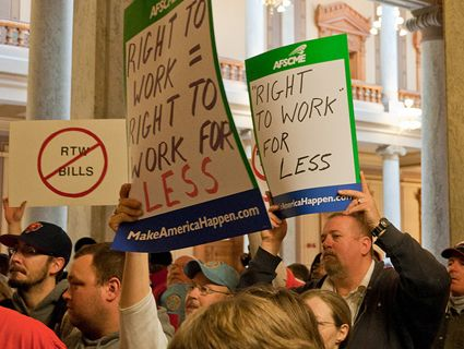 Anti-union laws are spreading to new states. But do voters know what right-to-work really means?