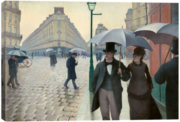 iCanvas Paris Street: A Rainy Day by Gustave Caillebotte (Canvas)