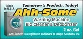 Ahh-Some Washing Machine Bio Cleaner & Deodorizer 2oz, 12+ Washer Cleanings