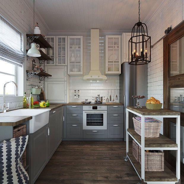 Дизайнер создала настоящую загородную резиденцию: разбавила фермерский интерьер цветочными узорами, насыщенными оттенками и приемами в скандинавском стиле