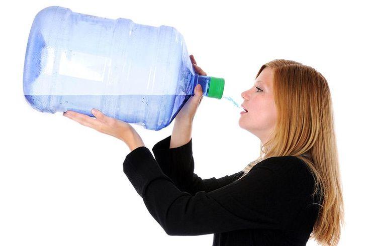 alleen water drinken gezond