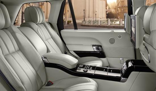 Range Rover's Executive Class Seating option
