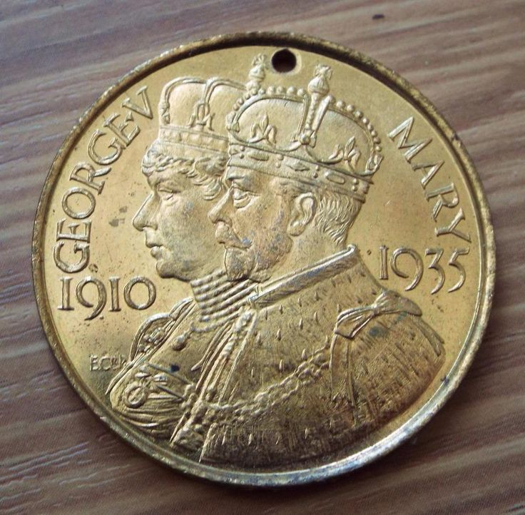 King George V & Queen Mary 1935 Borough of Southampton Silver Jubilee Medal