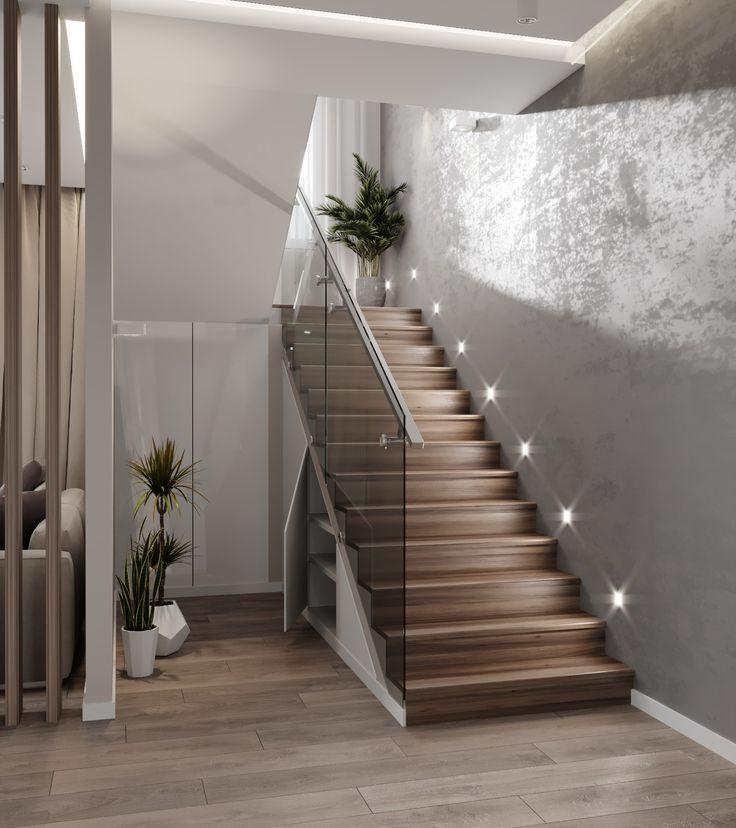 Фото красивых лестниц в квартире