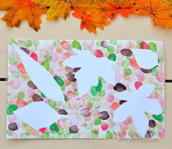 Art Ideas With Leaves: 17 Best Images About Preschool On Pinterest