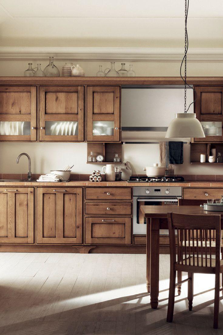 The 77 best Küchen aus Holz images on Pinterest | Contemporary unit ...