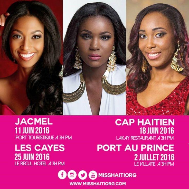 Miss Haiti 2016 est lanc?!