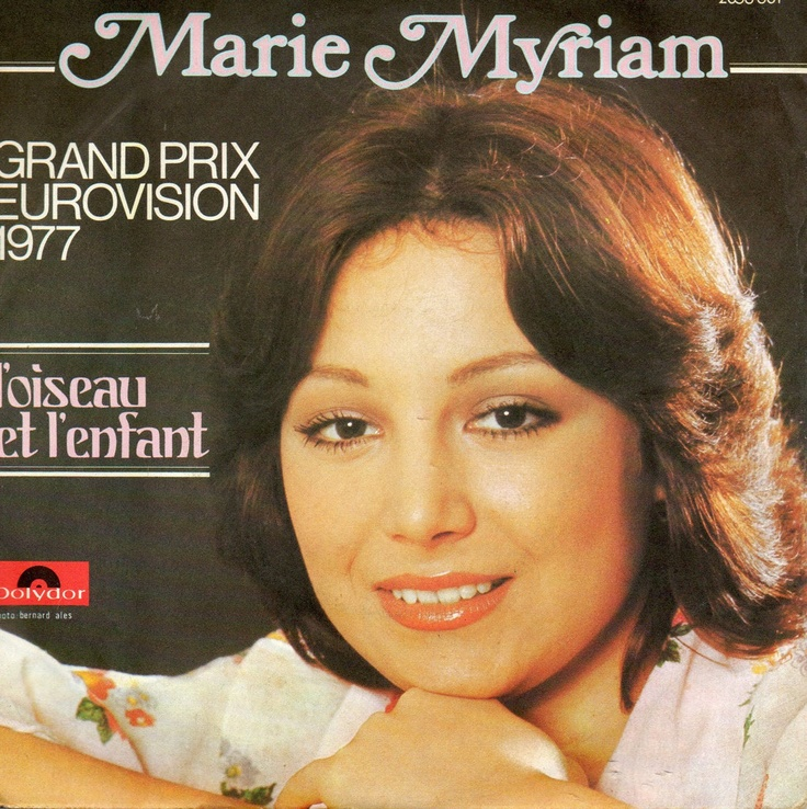 """""""L'oiseau et l'enfant"""" (""""The Bird and the Child"""") was the winning song in the Eurovision Song Contest 1977 performed in French by the Portuguese singer Marie Myriam, who represented France. The song was composed by Jean-Paul Cara and written by Joe Gracy."""