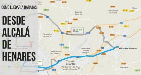 Cómo llegar al aeropuerto Barajas-Madrid desde Alcalá de Henares  Alcalá de Henares es una ciudad española , declarada  Patrimonio de la Humanidad por la UNESCO  en 1998 y  ..  https://lomcar.es/llegar-barajas-madrid-desde-alcala-henares/