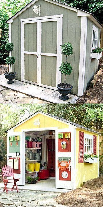 19 best favorite shed makeovers images on pinterest | sheds, shed