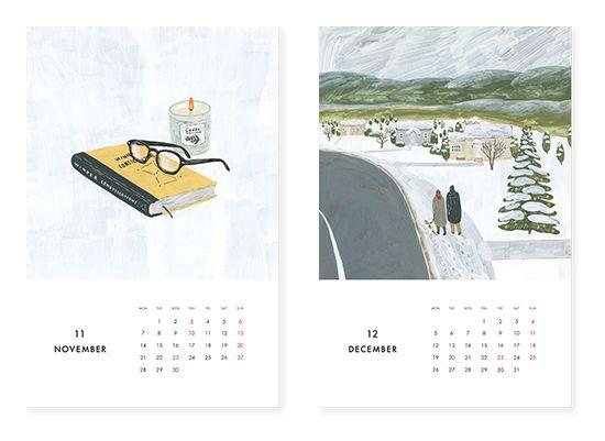 KURASHI&Trips PUBLISHING/カレンダー(2016) - 北欧雑貨と北欧食器の通販サイト| 北欧、暮らしの道具店