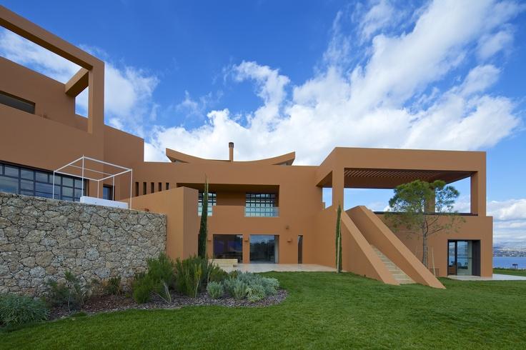 Project in Porto Heli Greece, Architect: Alexandros Samaras architects, Legorreta+Legorreta