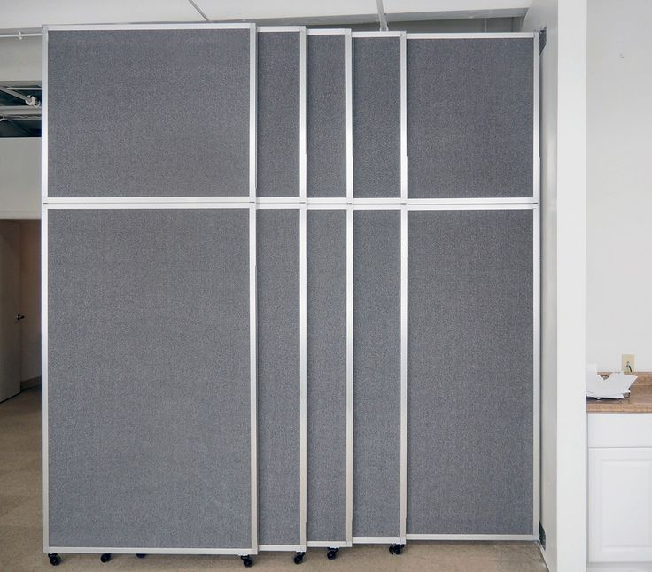 47 best wall mounted partitions images on pinterest for Sliding partition walls for home