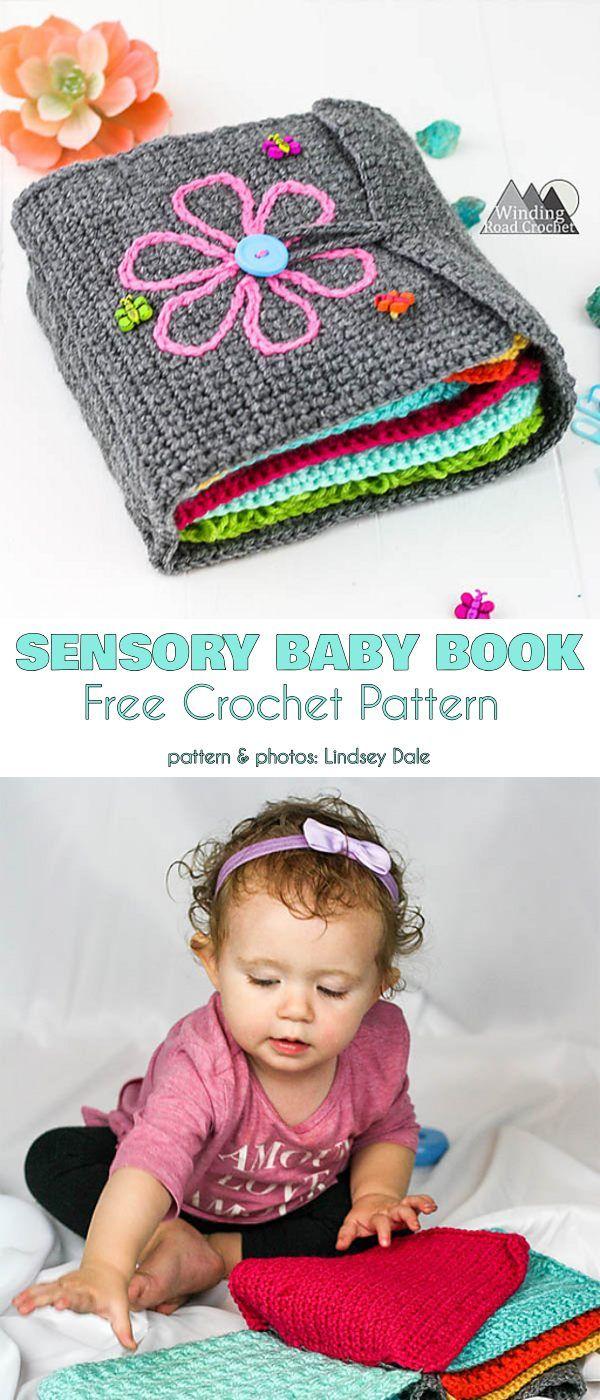 Sensory Baby Book Grátis Crochet Pattern