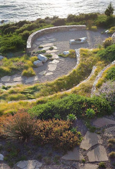 Australian-born, Northern California based Landscape designer Bernard Trainor