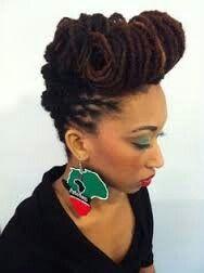 Fabulous 25 Best Ideas About Black Women Dreadlocks On Pinterest Black Short Hairstyles Gunalazisus