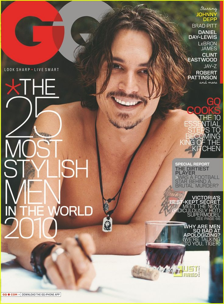 Image detail for -MAGAZINE COVER] Johnny Depp (Entertainment Weekly) ~ Caesar Live N ...