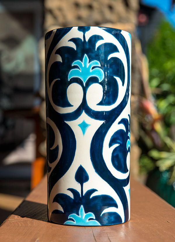 Jill Rosenwald's Downton Ivy Vase.