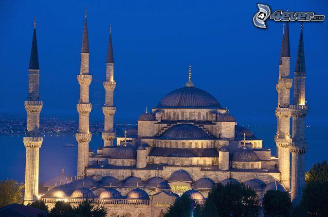 Die Blaue Moschee, Istanbul,