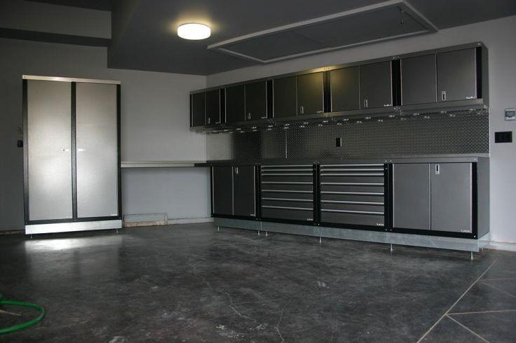 25 best ideas about garage interior on pinterest for Custom garage design