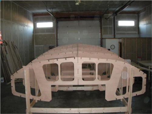 Didi 950 radius chine plywood boat plans