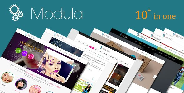 Modula Drupal Theme Commerce Business