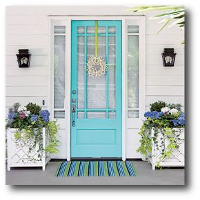 Believe it or not, your front door says a lot about you! Often it's the first thing that is noticed and it sets the tone for your home's overall appearance. The front door is an important feature so what color you paint it tells visitors what they can expect when entering your home.     Here's what color psychologists say your front door color says about you: