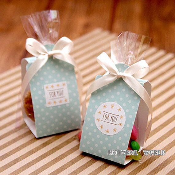 Bolsa lunares Cake & Cookie set celofán bolsas de envolturas de galletas-bocadillos, fiesta, Favor, regalo, boda, pan artesanal paquete de bolsa de plástico