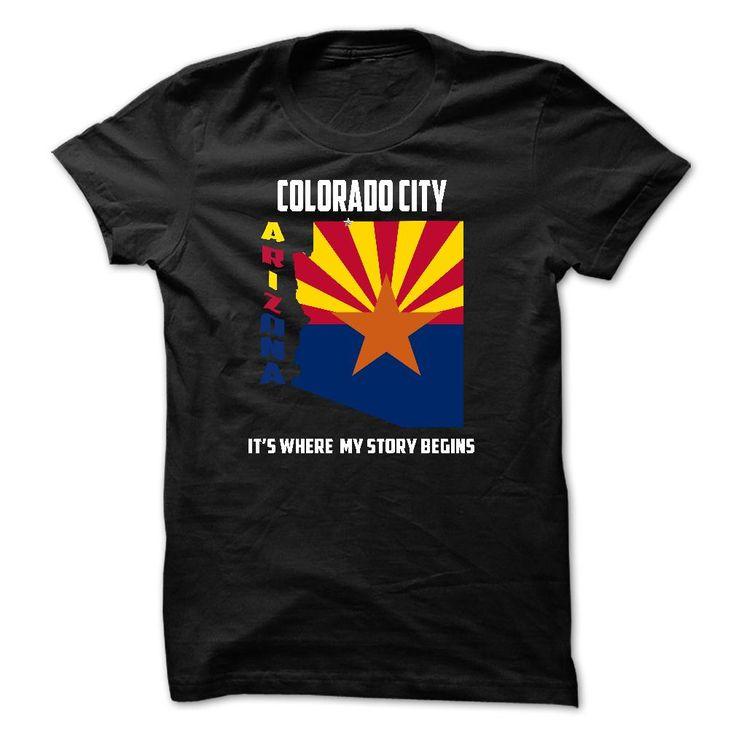 Colorado City, Arizona - Its Where My Story Begins T Shirt, Hoodie, Sweatshirt