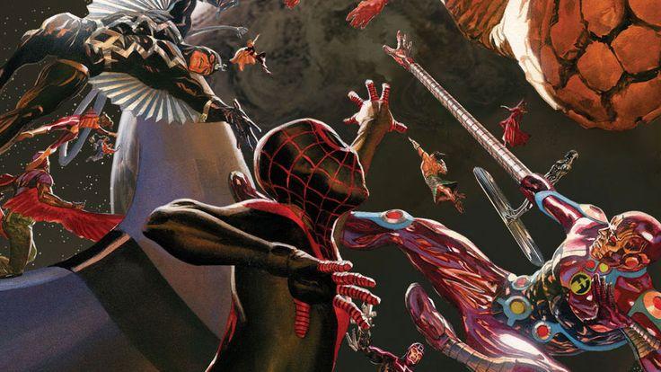 Marvel Secret Wars: Battleworld Revealed!