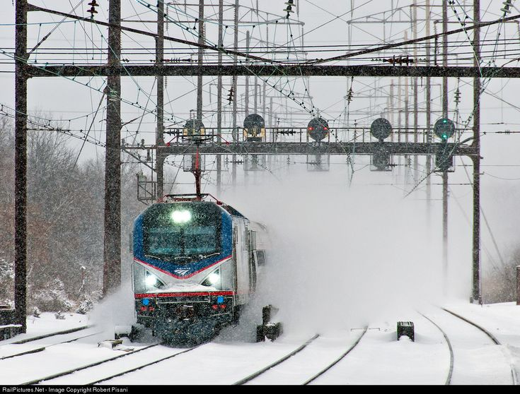 RailPictures.Net Photo: AMTK 603 Amtrak Siemens ACS-64 at Edison, New Jersey by Robert Pisani