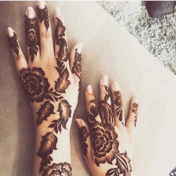 Pin By Zainab On الحناء Hand Henna Eid Mehndi Designs Henna Hand Tattoo
