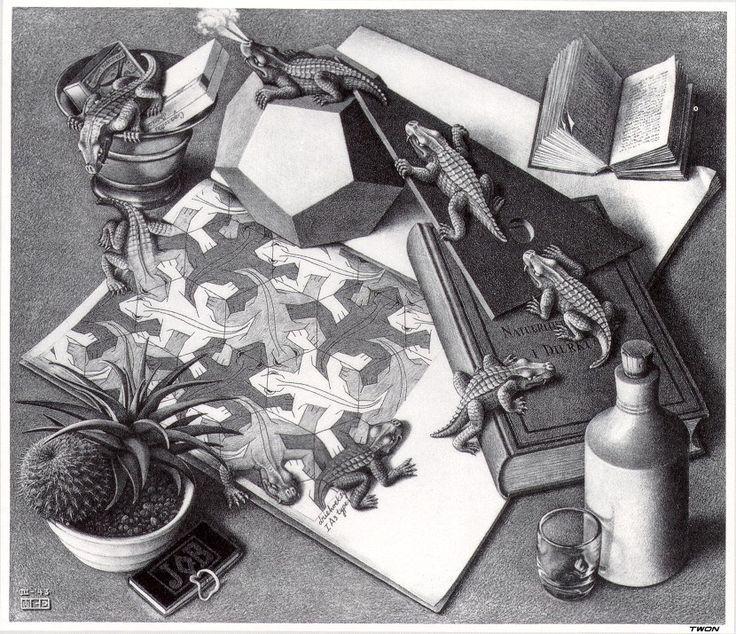 Reptiles - M.C. Escher
