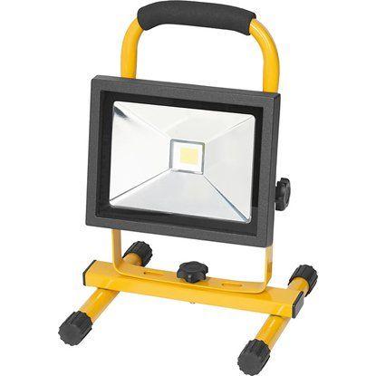 OBI LED-Baustrahler EEK: A mit Akku tragbar 20 W