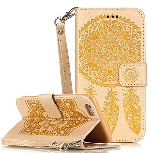 Apple Iphone 6 Plus Hülle Leder Flip Wallet Cover Case, Nnopbeclik Folio PU Leather Blume Case Drucken Campanula Diamant Bling Handytasche Schutz Kristall Glitzer Bookstyle Handyhülle Echt Strass Etui Muster Brieftasche Stoßdämpfend Tasche Schale mit Standfunktion Karteneinschub und Magnetverschluß Pour Apple Iphone 6 Plus 5.5 Zoll[Gelb] - http://uhr.haus/nnopbeclik/gelb-apple-iphone-6-plus-huelle-leder-flip-wallet-6