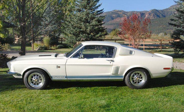 1968 SHELBY GT500 KR FASTBACK - Barrett-Jackson Auction Company - World's Greatest Collector Car Auctions--Grumpy's Car
