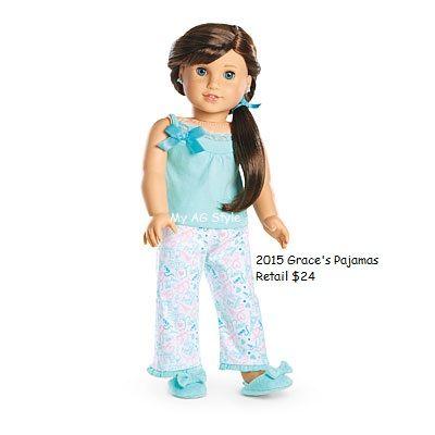 American Girl Doll Brand Grace's Pajamas