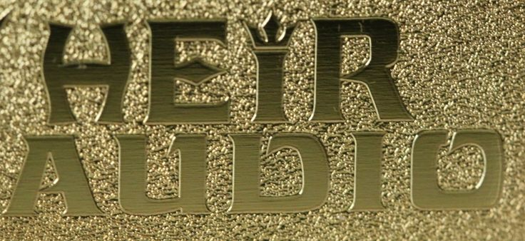Heir gold logo!   #music, #headphones, #audiophiles, #heiraudio,#audio, #headfi, #hifi, #design, #craftsmanship,