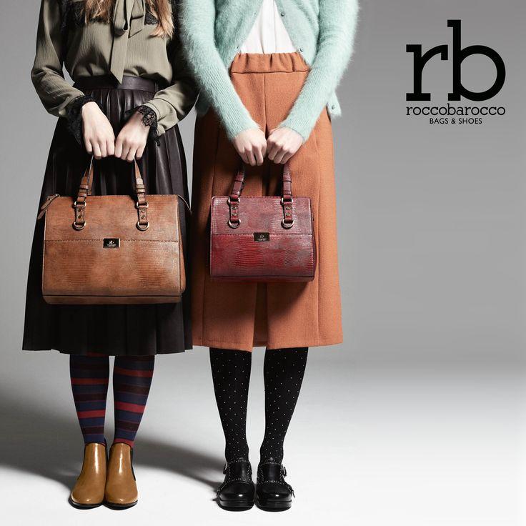 Bauletto o #minibag? scegli la tua #cougar firmata #rb di #roccobarocco e poi completa il tuo #outfit con le #alby modello #texano o con il #mocassino #bally. Gli accessori più trendy per l'autunno/inverno 2016 li trovi solo da #Miriade. #moda #modadonna #accessoridonna #shopping #shoes #bags #bauletto #fallwintercollection #fashion #style