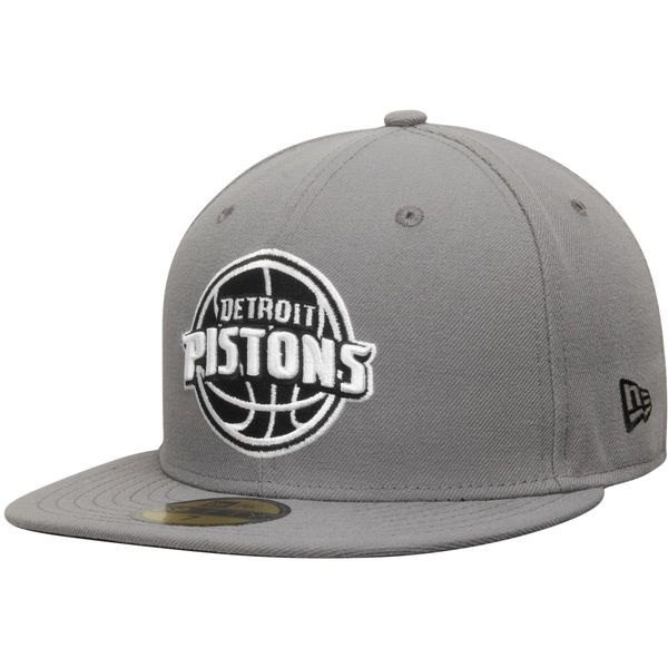 huge selection of 64394 651df ... canada mens detroit pistons new era gray black 59fifty fitted hat your  price 9f7c2 12ee8