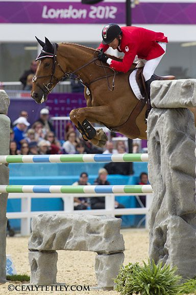 Eric Lamaze Leads Canadian Olympic Team for Show Jumping