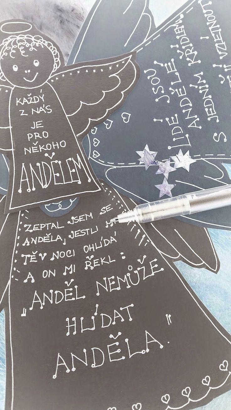Fersluliving: DIY - Každý jsme pro někoho andělem...