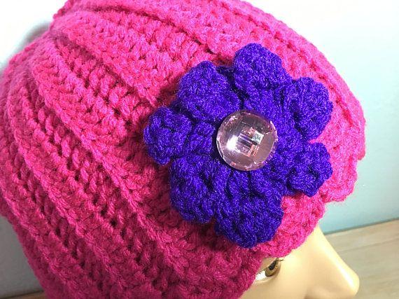 Lady's Winter Hat hand crochet hat  gift idea Mothers