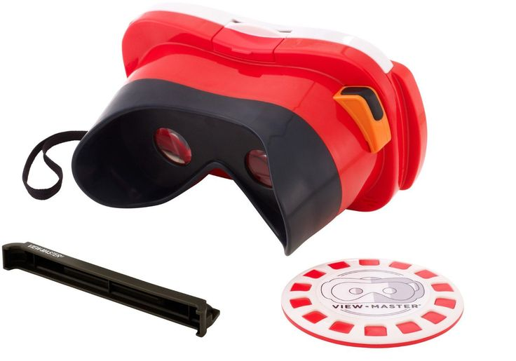 Like the 3D View Master of your youth but updated for the smart-phone generation. The View-Master Virtual Reality viewer will take you around the world and beyond. Simply download one of the free View