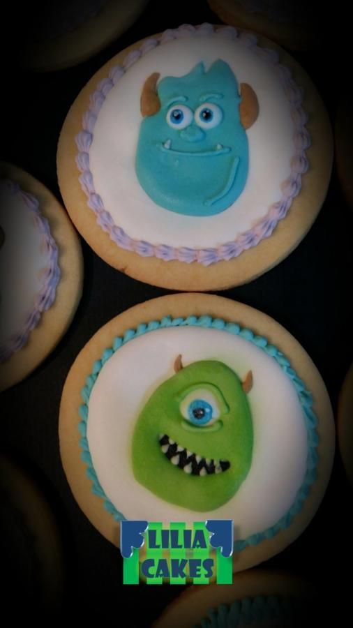 Monster Inc. Cookies, I hope you like!